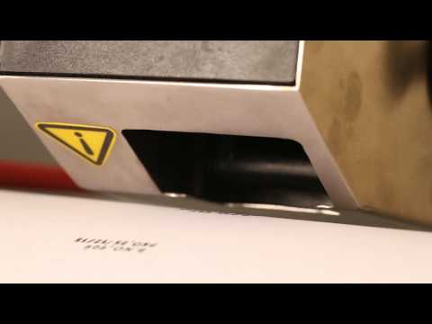 Printer In Action Control Print Hot Quick Coder