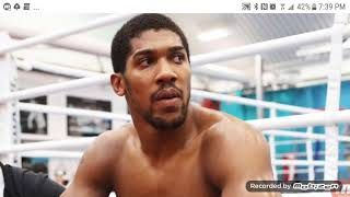 ANTHONY JOSHUA HAUNTED BY FEAR OF LOSING!!!! (WILDER EFFECT)