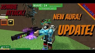 New AURAS update! - Zombie Attack ll ROBLOX 1080pHD