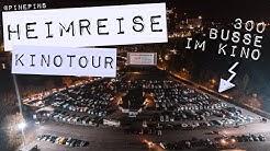 HEIMREISE KINOTOUR - Mit dem Camper im Autokino zur Premiere - kommt mit hinter die Kulissen