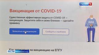 На «Госуслугах» стала доступна запись на вакцинацию от COVID 19