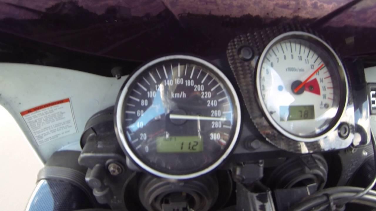 SUZUKI GSXR 750 GSX-R 750 SRAD 1996 TOP SPEED