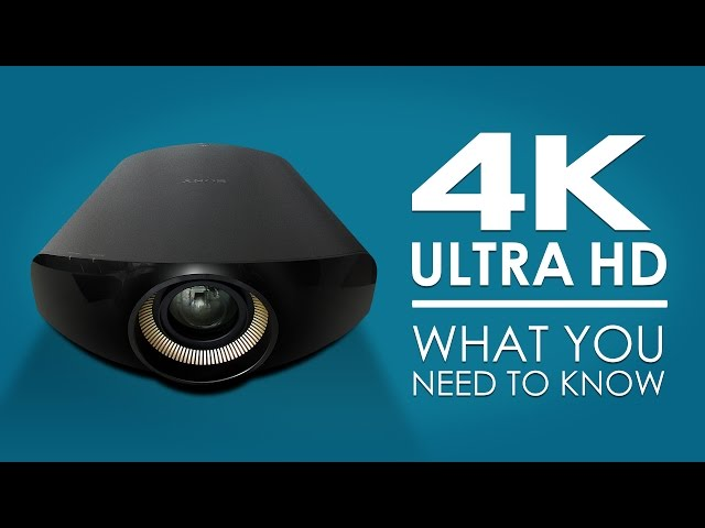4K/UltraHD: What You Need To Know