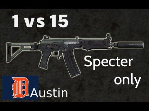 1 vs 15 (Specter only/ Austin) Comeback! The Last of Us Remastered Multiplayer The Dam | XAVI GAMING