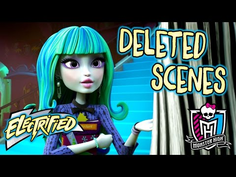 Deleted Scenes: Storm Aftermath | Electrified | Monster High