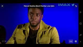 Chadwick Boseman studied African Scholars Dr. John Henrik Clarke & Dr Ben for Black Panther Movie