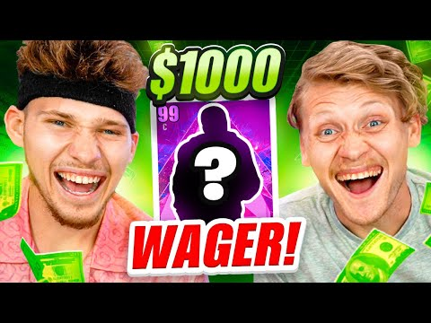 INSANE $1000 PACK & PLAY NBA 2K21 WAGER!
