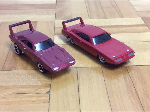 Mattel Fast And Furious 1969 Dodge Charger Daytona