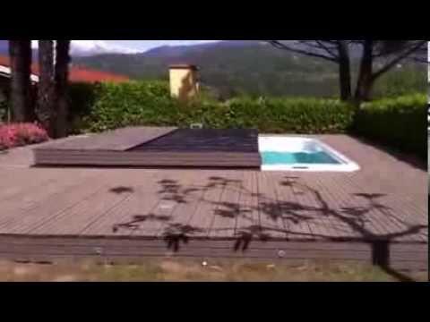 Automatische afdekking voor spa zwemspa of zwembad overkapping