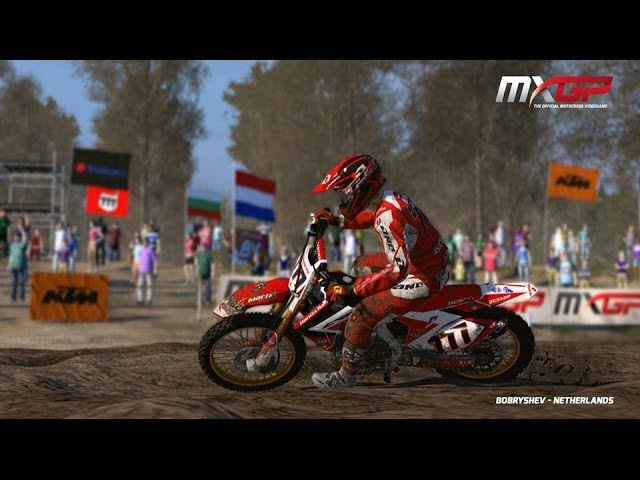 MXGP Official Video Game -  Bobryshev Gameplay Video 1
