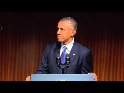 Civil Rights Summit: President Barack Obama Recalls LBJ's Commitment to Civil Rights Law