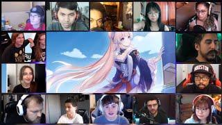 Character Teaser Sangonomiya Kokomi - Reaction Mashup (Genshin Impact)