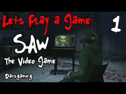 Let's Play Saw - Part 1 - The Video Game - Dansgaming HD Walkthrough Gameplay