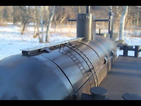 Мангалы своими руками видео подводные лодки