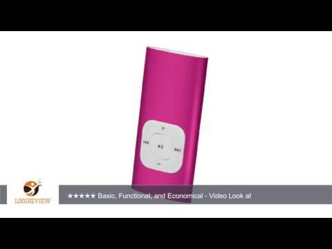 Sylvania SMP4200-Pink 4GB MP3 Player | Review/Test