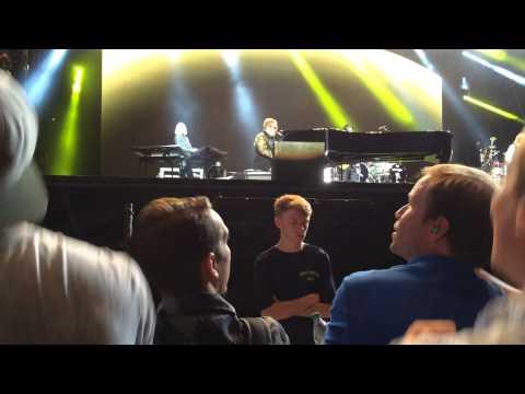 Elton John Crocadile Rock singalong Music Midtown 2015