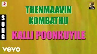 Thenmaavin Kombathu - Kalli Poonkuyile Malayalam Song   Mohanlal, Shobana