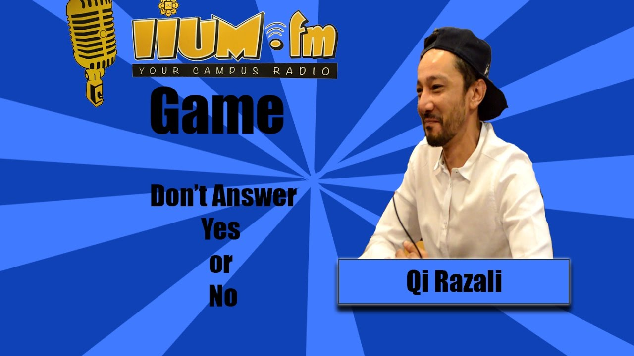 Game: Don't answer (Yes)or(No) With Qi Razali - YouTube