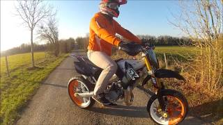 Derbi senda moteur KTM 85 SX (n°3)