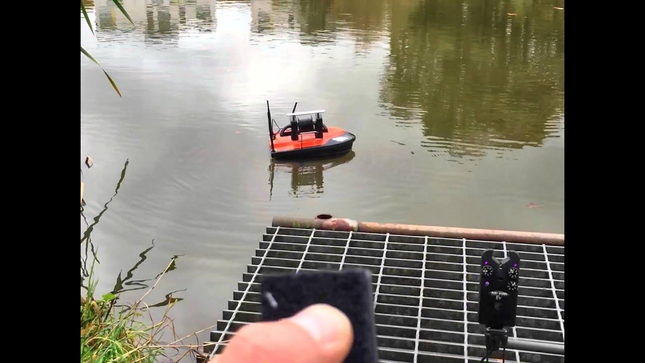 Bait boat wireless underwater camera winch for carp for Underwater camera fishing