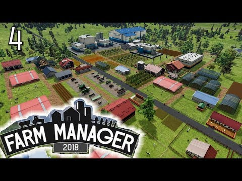 Pigs? 🐖Not sure if that is good? - FARM MANAGER 2018 GAMEPLAY #4