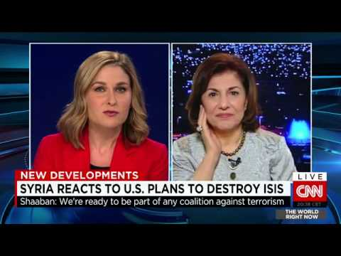 Syria: Bouthaina Shaaban, adviser to Syrian President al Assad - Sept 11, 2014
