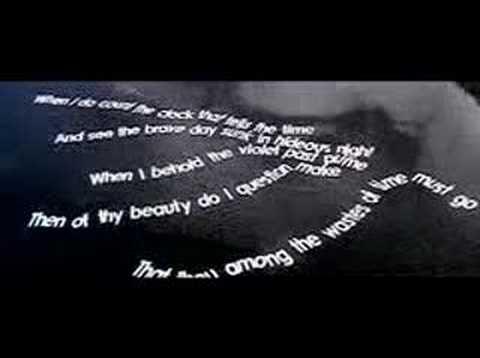 william shakespeare sonnet 12