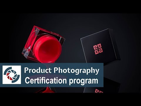 Announce: Advanced Product Photography, Professional Level Certification Program