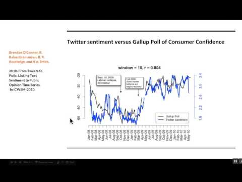 Lecture #17 for Social Computing class (U. Zürich) May 13, 2017
