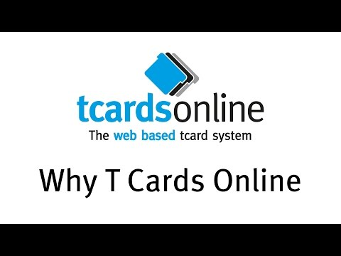 T Cards Online - Web Based Visual Management System