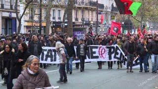 Nouvelle manifestation contre la politique