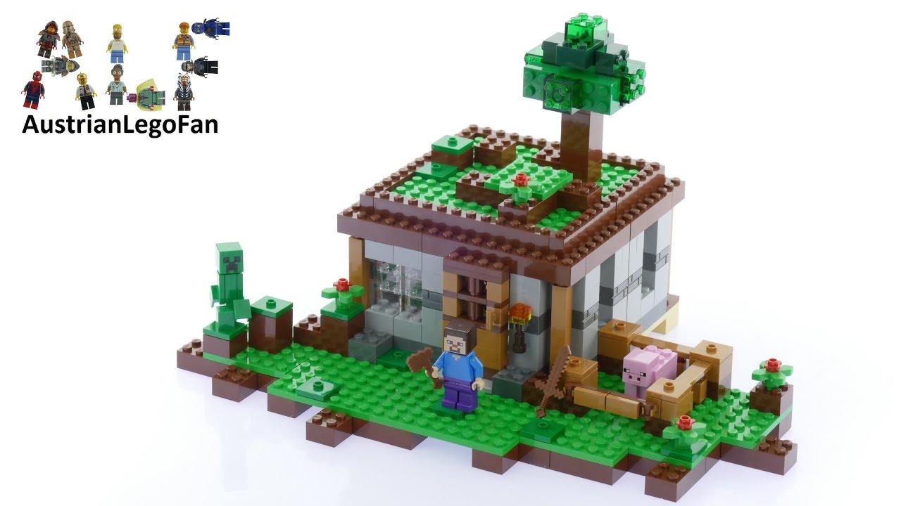 how to build lego minecraft