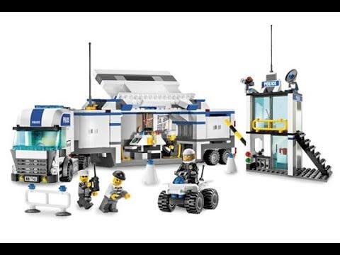 LEGO CITY 7743 - LE POSTE DE DOUANE 1/3