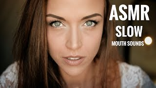 ASMR Gina Carla 📖 Slow Mouth Sounds! Feat. SCRIBD
