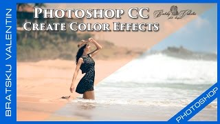 Photoshop CC Create Color Effects