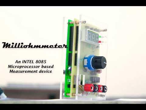 Milliohmmeter - An INTEL 8085 Microprocessor Based Low Resistance Measurement Device