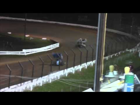 Williams Grove Speedway 410 and 305 Sprint Car Highlights 5-23-14
