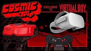 Virtual boy on Oculus Go in 3D- Mario tennis