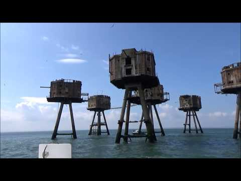 Boat Trip On The River Medway & Thames To The Red Sands Forts - Saturday 25th May 2019