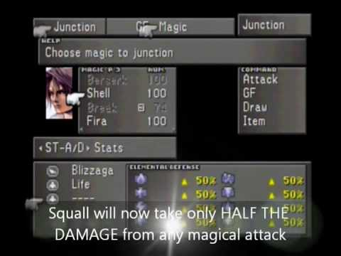 Learning the Junction System in Final Fantasy VIII - Part I