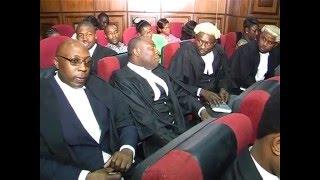 Watch: Trial Of Director of Radio Biafra Nnamdi Kanu Stalled