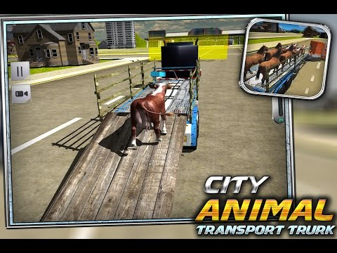 City Animal Transport Truck 3D Game - Android Gameplay