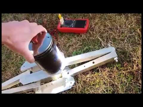 Big fresnel lens test