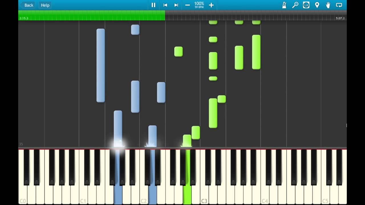 "Como tocar ""wish you were here""(pink floyd) piano tutorial."