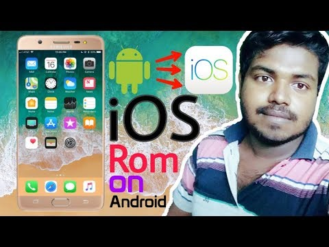 How to install Apple Iphone IOS Rom on Any Android Phone - Android to IOS  🔥🔥🔥