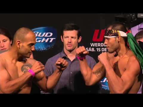 UFC 180: Official Weigh-in