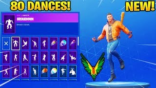 *NEW* MAVERICK SKIN SHOWCASE WITH 80 FORTNITE DANCES & EMOTES! (New Fortnite Skin) - Logan Paul