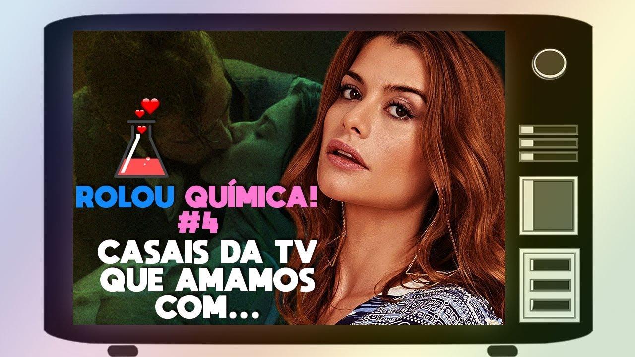 Aline Moraes Toda Nua rolou quÍmica! || 5 casais da tv que amamos com alinne moraes