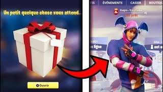 THIS EXCLUSIVE SKIN IS OFFERED BY FORTNITE? (Cadeau)