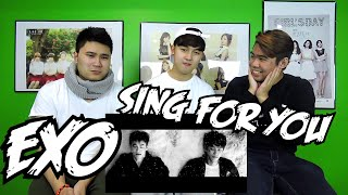 EXO - SING FOR YOU MV REACTION (FUNNY FANBOYS)